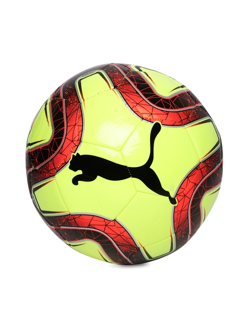 Puma Unisex Fluorescent Yellow FINAL 6 MS Trainer Football