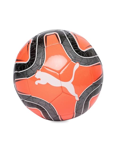 Puma Unisex Neon Orange FINAL 6 MS Trainer Football