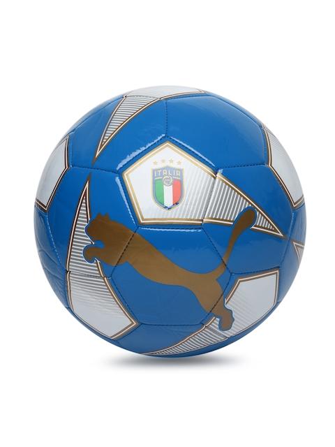 Puma Unisex Blue & White ITALIA World Cup Licensed Football