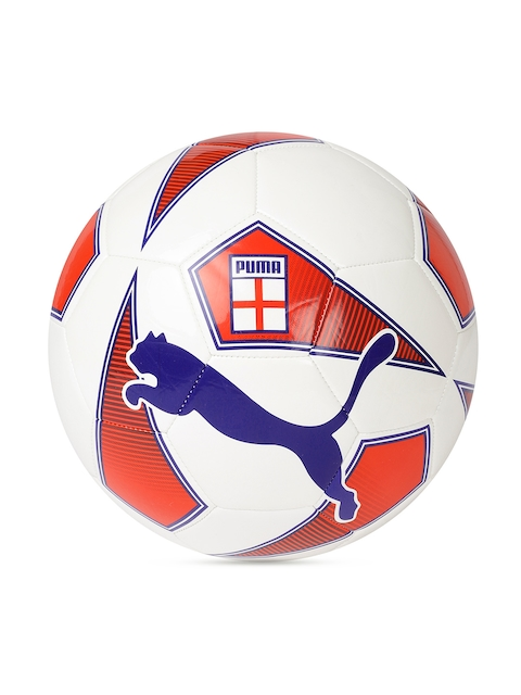 Puma Unisex White & Red World Cup non-licensed Fan Ball Football