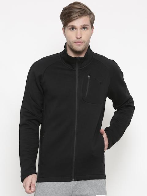 Puma Black Slim Fit Evostripe Move Sporty Jacket