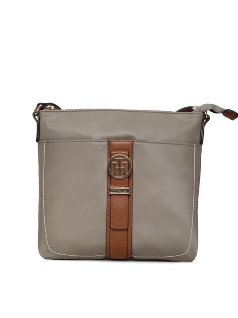 Tommy Hilfiger Taupe Solid Sling Bag