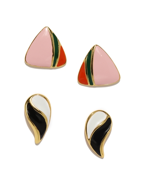 Estelle Set of 2 Oversized Stud Earrings