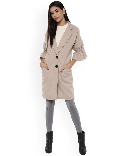 Kazo Beige Overcoat