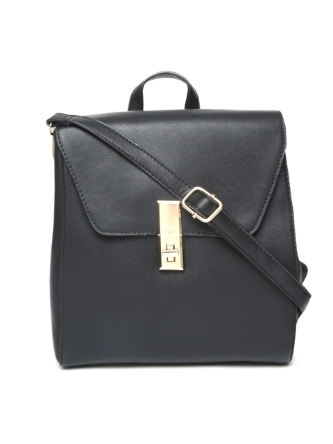 ALDO Women Black Solid Backpack