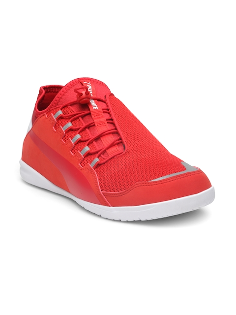 Puma Men Red Scuderia Ferrari F Cat Ignite Sneakers