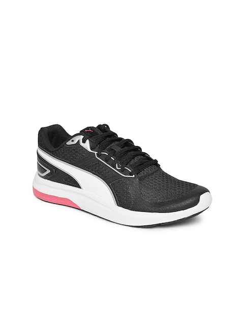 Puma Women Black Escaper Tech Running Shoes