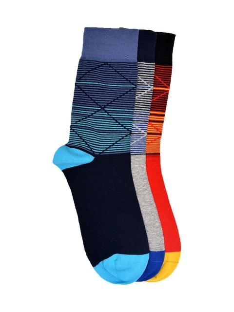 VINENZIA Men Pack of 3 Socks