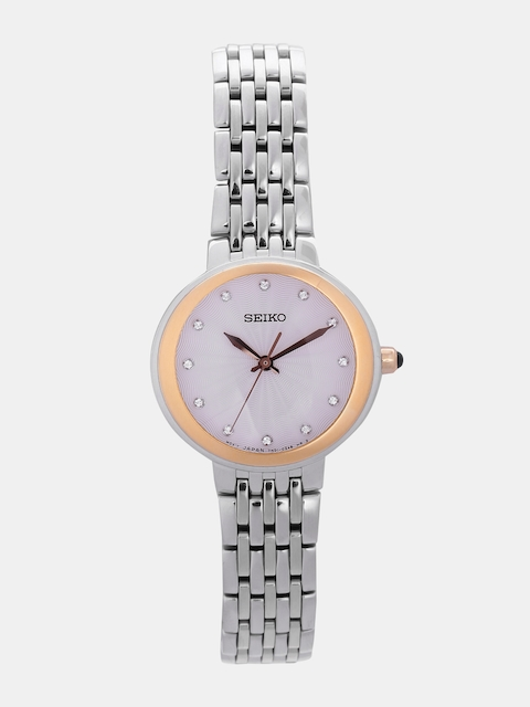SEIKO Women Silver-Toned Analogue Watch SRZ502P1