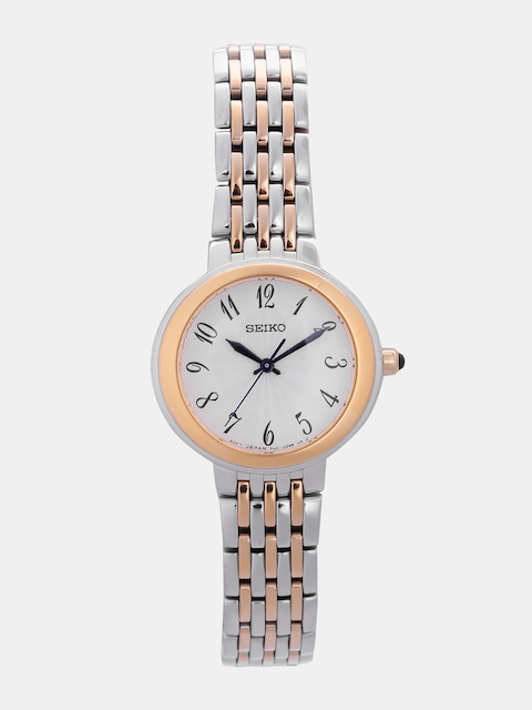 SEIKO Women Off-White Analogue Watch SRZ506P1