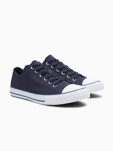 next Women Navy Blue Basketball Shoes