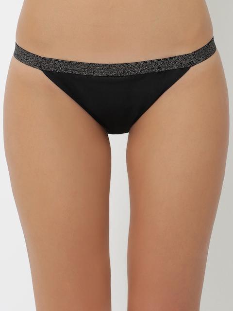 Triumph Women Black Bikini Briefs 756I132 K9
