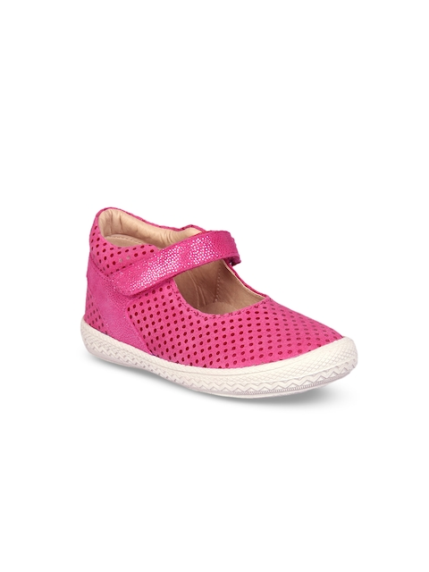 Beanz Girls Pink Flatforms
