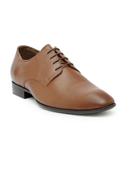 Teakwood Leathers Men Tan Formal Shoes