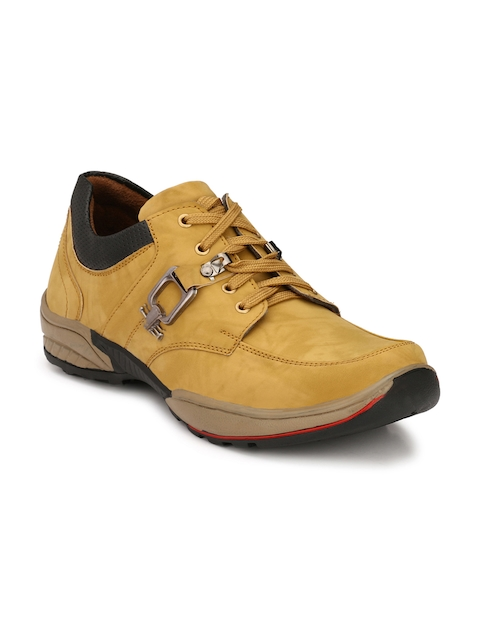 Eego Italy Men Yellow Flat Boots