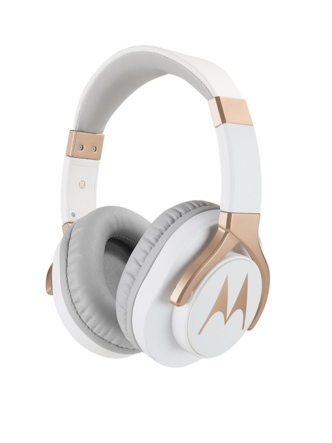 Motorola Unisex White Pulse Max Headphones 5012786035522