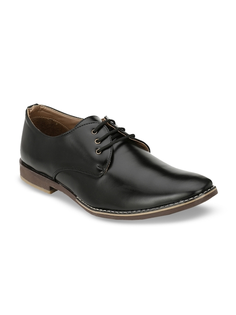 Eego Italy Men Black Formal Shoes