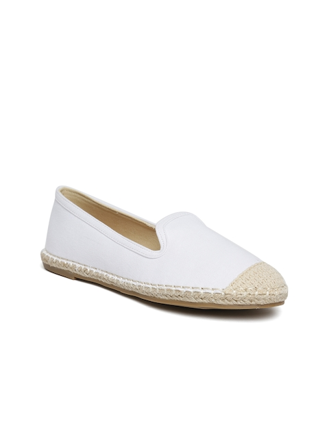 Carlton London Women White Espadrilles