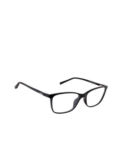 Cardon Unisex Black Solid Full Rim Rectangle Frames