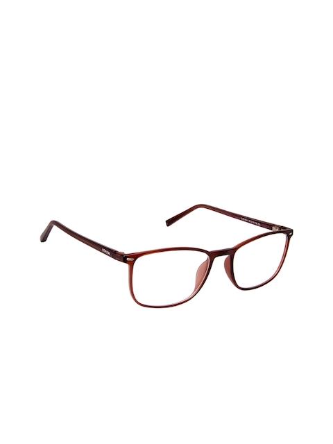 Cardon Unisex Brown Solid Full Rim Rectangle Frames LCEWCD1460SRVC164891xC3