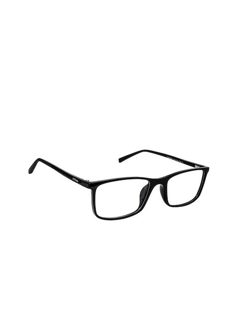 Cardon Unisex Black Solid Full Rim Rectangle Frames LCEWCD1453SRVC161897xC1
