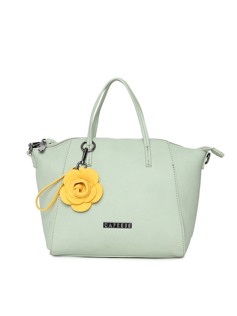 Caprese Green Handheld Bag