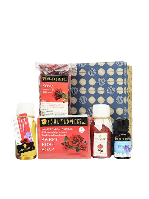 Soulflower Rose Try Me  Bath Giftset