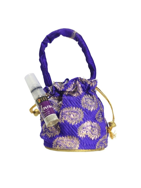 Soulflower Lavender Aroma Pouch with Bottle