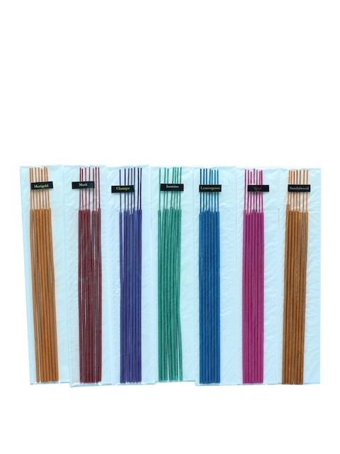 Soulflower Multicolour Set of 7 Aroma Incense Sticks