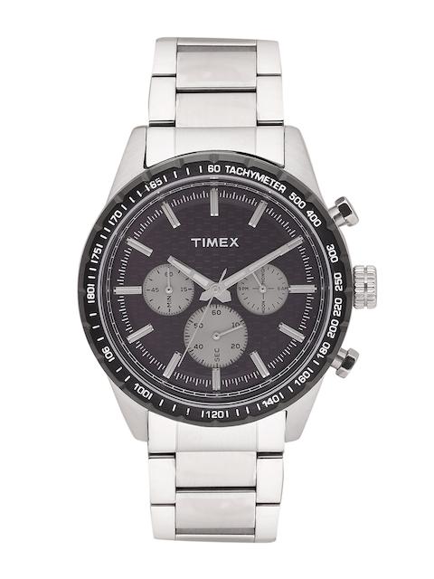 Timex Men Black Analogue Watch TWEG15609