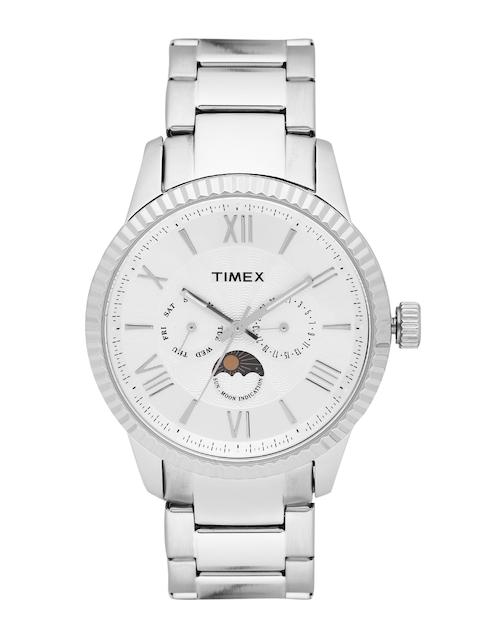 Timex Men Silver-Toned Analogue Watch TWEG15106