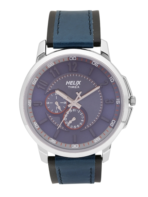 Helix by Timex Men Navy Analogue Watch TW027HG09