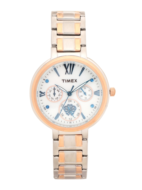 Timex Women Mother Of Pearl Analogue Watch TWEL11706