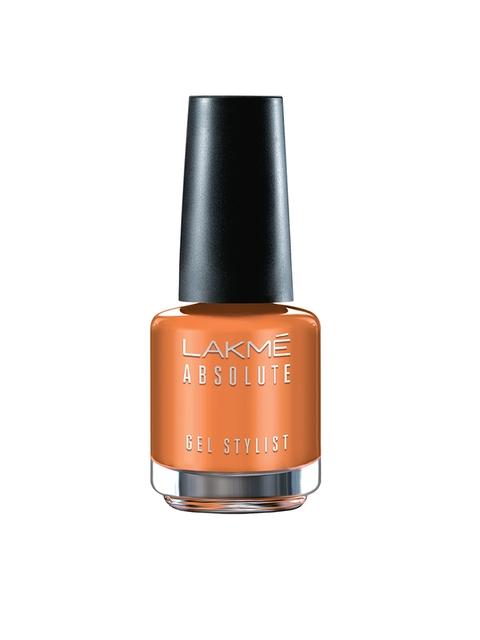 Lakme Absolute Peach Sorbet Gel Stylist Nail Color