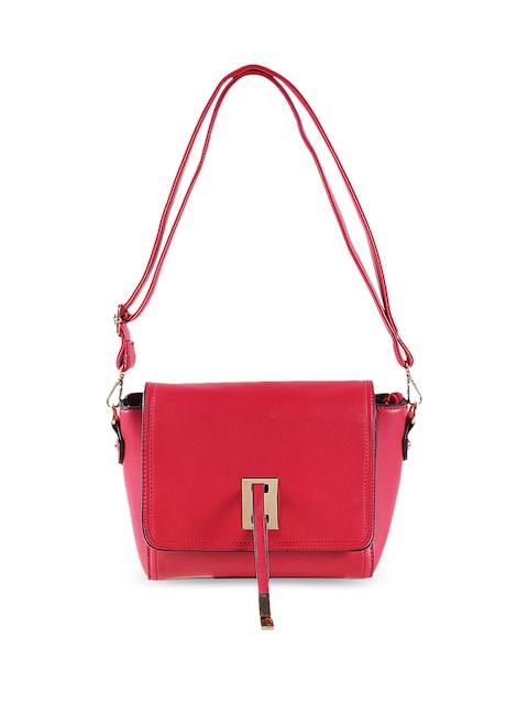 Mochi Red Solid Sling Bag