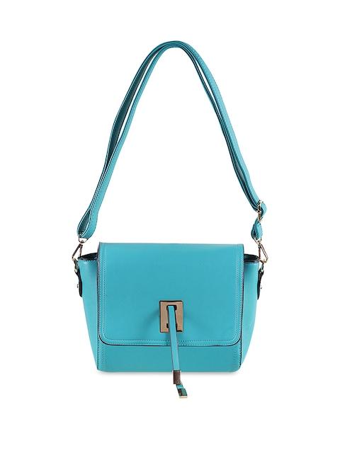 Mochi Blue Solid Sling Bag