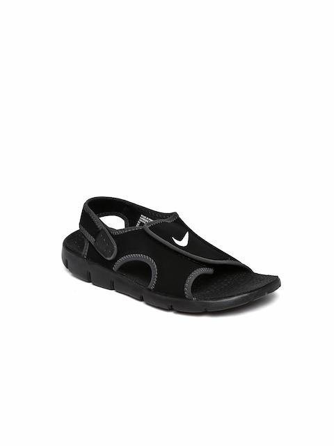 Nike Boys Black Sunray Adjust 4 Sports Sandals