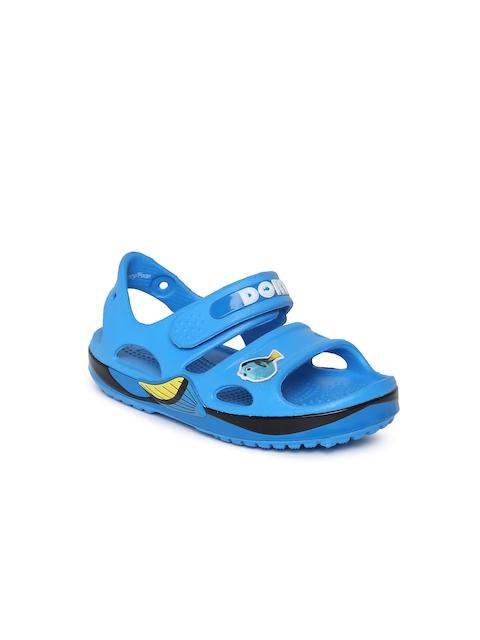 Crocs Unisex Blue Comfort Sandals