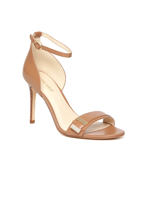Nine West Women Tan Brown Sandals
