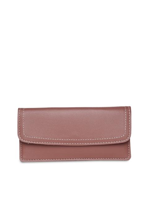 Alvaro Castagnino Women Brown Solid Two Fold Wallet
