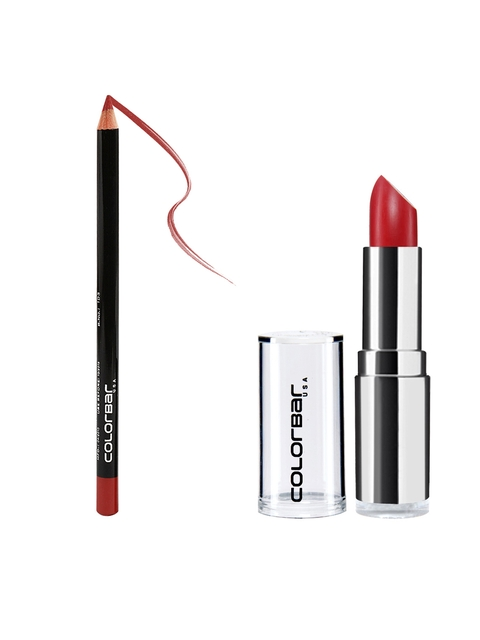 Colorbar Pack of Lip Liner & Lipstick