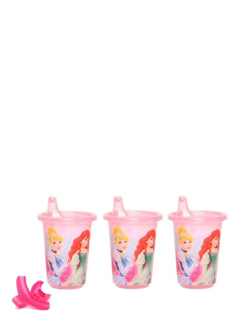 The First Years by YK Girls Set of 3 Multicoloured Disney Princess Print Sippy Cups