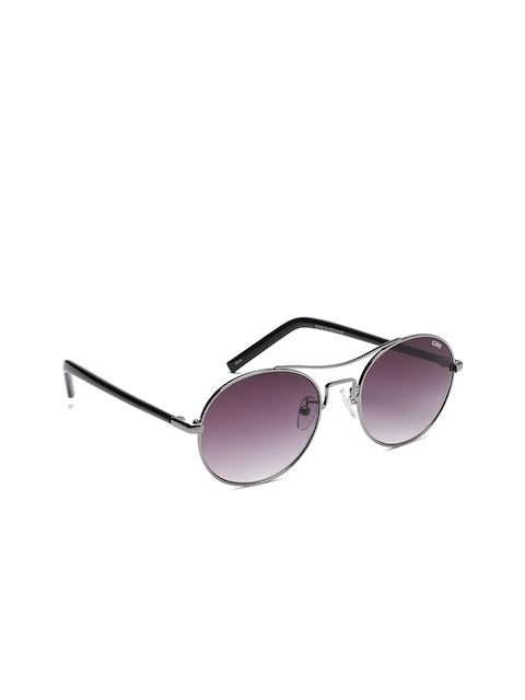 I DEE Men Round Sunglasses EC393
