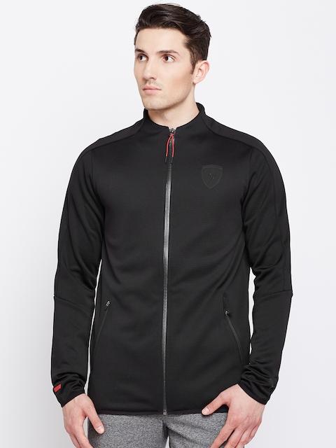 Puma Men Black Solid Sporty Jacket