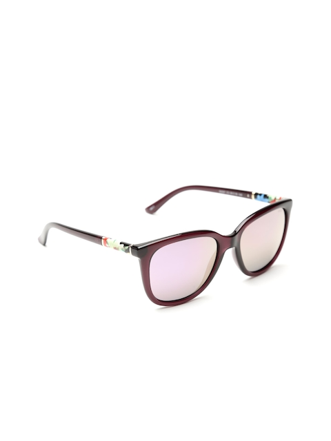I DEE Unisex Mirrored Square Sunglasses EC689