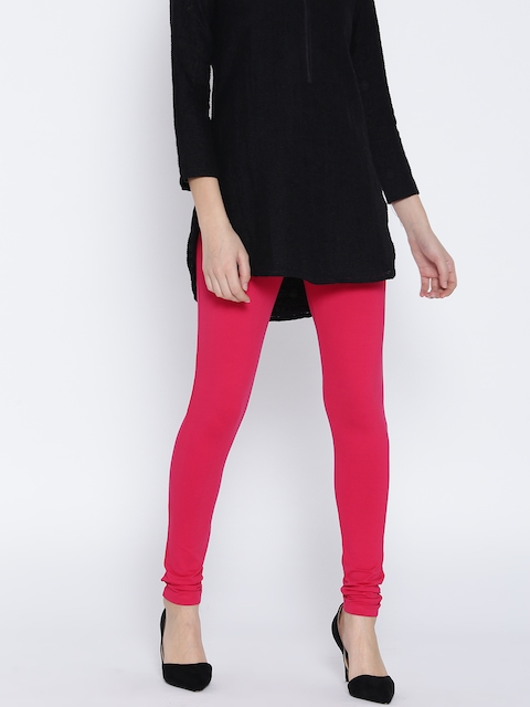 Monte Carlo Pink Churidar Leggings