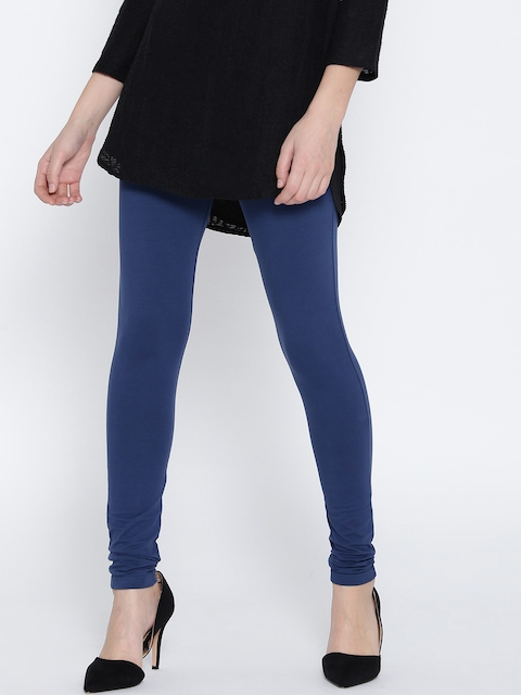 Monte Carlo Navy Churidar Leggings