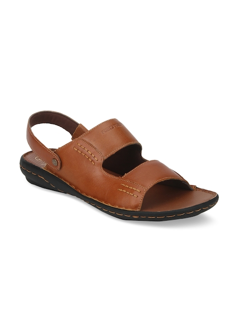 Red Tape Men Brown Fisherman Sandals