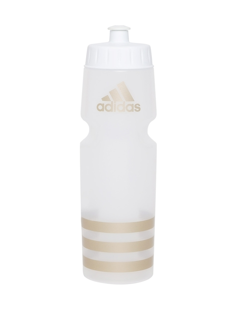 Adidas Unisex White Printed Performance Water Bottle 750 ml