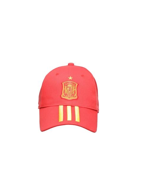 Adidas Unisex Red FEF 3S Solid Cap